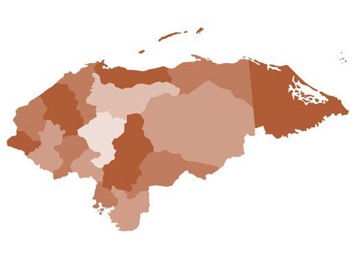 Honduras-map